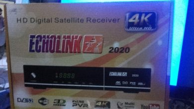 Photo of ECHOLINK ZIPPER 2000 HD RECEIVER AUTO ROLL POWERVU KEY NEW SOFTWARE