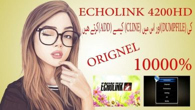 Photo of ECHOLINK 4200 HD RECEIVER POWERVU KEY NEW SOFTWARE BY USB