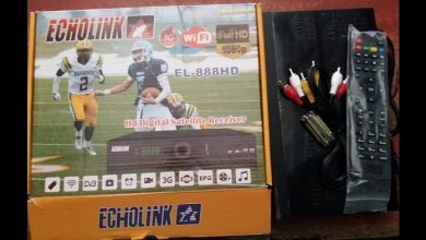 Photo of ECHOLINK 888 CALIFORNIA HD RECEIVER BISS KEY OPTION