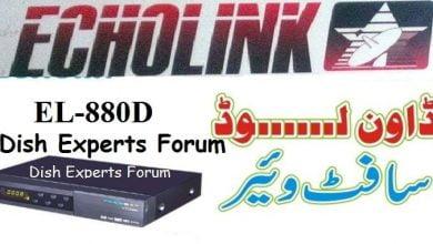Photo of ECHOLINK 880D+ HD RECEIVER POWERVU KEY OPTION