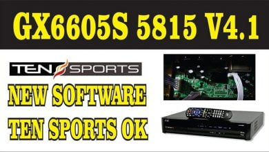 Photo of GX6605S 5815 V4.1 TYPE HD RECEIVER TEN SPORTS 100% OK NEW SOFTWARE