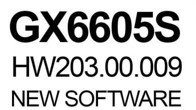 Photo of GX6605S HARDWARE VERSION HW203.00.201 POWERVU KEY NEW SOFTWARE