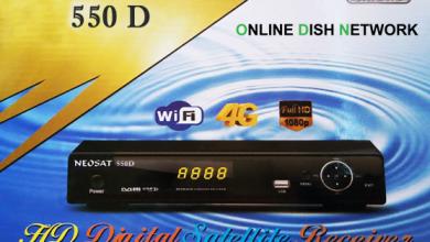 Photo of NEOSAT 550D HD RECEIVER AUTO ROLL POWERVU KEY SOFTWARE