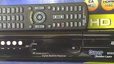 Photo of SUPER GOLDEN LAZER 8000 HD CLASSIC RECEIVER POWERVU KEY OPTION