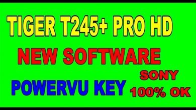 Photo of TIGER T245+ PRO HD RECEIVER BISS KEY OPTION