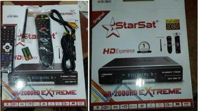 Photo of STAR SAT SR-2000 HD HYPER RECEIVER TEN SPORTS OK NEW SOFTWARE