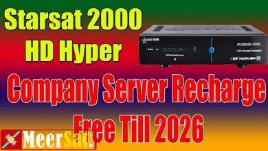 Photo of Star Sat Sr-2000 Hyper Hd Receiver New Software V2.55 27.12.2019