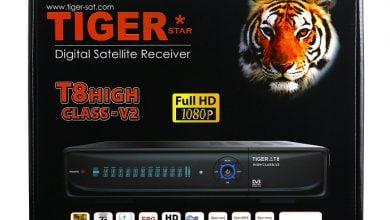 Photo of T8 TIGER HIGH CLASS V2 SOFTWARE V3.66 HD RECEIVER NEW 30 nov 2019