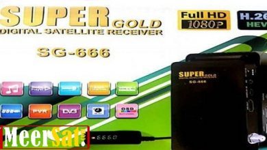 Photo of Supergold Sg 666 New Software Hd Receive With Mr Audio 17.01.2020