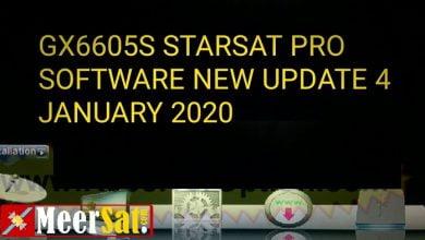 Photo of Gx6605s Starsat Latest New Software 2020