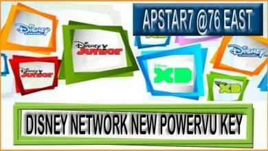 Photo of Disney Network New PowerVu Key ApStar 7 – 76.5°East 2021