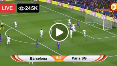 Photo of Barcelona vs Paris SG Champions League LIVE Football Score 10/03/2021