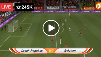 Photo of Czech Republic vs Belgium UEFA LIVE Football Score 27/03/2021