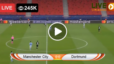 Photo of Manchester City vs Dortmund Champions League LIVE Football Score 06/04/2021