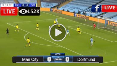 Photo of Manchester City vs Dortmund UEFA League LIVE Football Score 14/04/2021