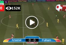 Photo of Arsenal vs Fulham Premier League LIVE Football Score 18/04/2021