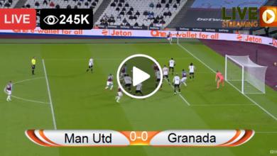 Photo of Manchester Utd vs Granada CF Europa League LIVE Football Score 08/04/2021