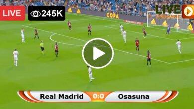 Photo of Real Madrid vs Osasuna LaLiga LIVE Football Score 01/05/2021