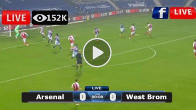 Photo of Arsenal vs West Brom Premier League LIVE Football Score 09/05/2021