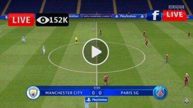 Photo of Man City VS PSG UEFA League LIVE Football Score 04/05/2021