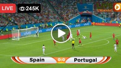Photo of Spain vs Portugal Friendly International LIVE Football Score 04/06/2021