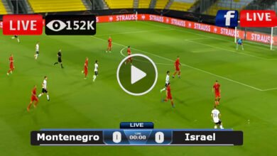 Photo of Montenegro vs Israel Friendly International LIVE Football Score 05/06/2021
