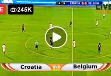 Photo of Belgium vs Croatia Friendly International LIVE Football Score 06/06/2021
