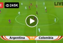 Photo of Argentina vs Colombia LIVE Football Score 08/06/2021