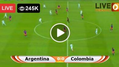 Photo of Argentina vs Colombia Copa America LIVE Football Score 06/07/2021