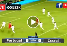 Photo of Portugal vs Israel Friendly International LIVE Football Score 09/06/2021