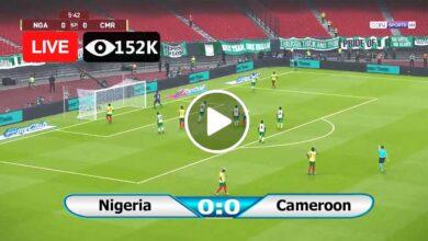 Photo of Nigeria vs Cameroon World Cup LIVE Football Score 04/06/2021