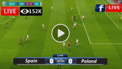 Photo of Spain vs Poland Euro Group E LIVE Football Score 19/06/2021