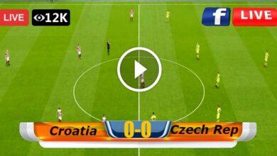 Photo of Croatia vs Czech Republic European Championship LIVE Football Score 18/06/2021
