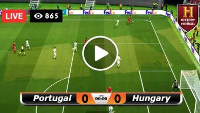 Photo of Portugal vs Hungary EUROPE Euro LIVE Football Score 15/06/2021