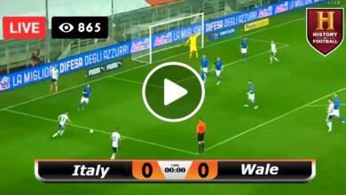 Photo of Italy vs Wales European Championship LIVE Football Score 20/06/2021