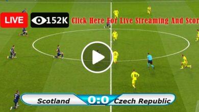 Photo of Scotland vs Czech Republic European Championship LIVE Football Score 14/06/2021