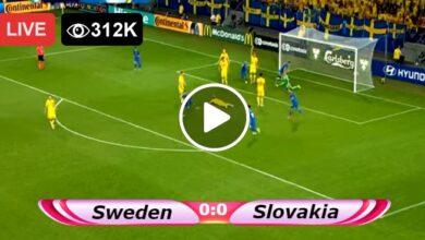 Photo of Sweden vs Slovakia European Championship LIVE Football Score 18/06/2021
