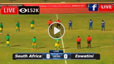 Photo of South Africa vs Eswatini COSAFA Cup LIVE Football Score 08/07/2021