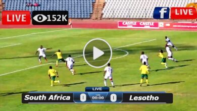 Photo of South Africa vs Lesotho LIVE Football Score 13/07/2021