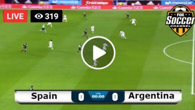 Photo of Spain vs Argentina World Olympic LIVE Football Score 28/07/2021