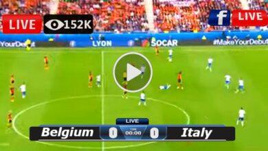 Photo of Belgium vs Italy European LIVE Football Score 02/07/2021