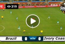 Photo of Brazil vs Ivory Coast WORLD Olympic LIVE Football Score 25/07/2021