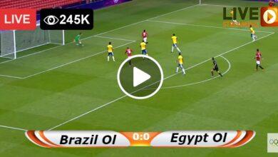 Photo of Brazil Ol vs Egypt Ol WORLD Olympic LIVE Football Score 31 Jul 2021