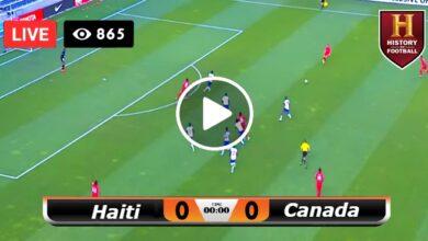 Photo of Haiti vs Canada Gold Cup LIVE Football Score 15/07/2021