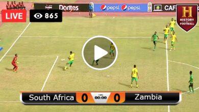 Photo of South Africa vs Zambia LIVE Football Score 14/07/2021