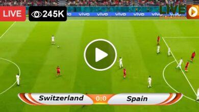 Photo of Switzerland vs Spain European LIVE Football Score 02/07/2021