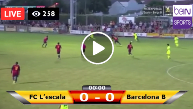 Photo of FC L'escala vs Barcelona B LIVE Football Score 23 /07 /2021