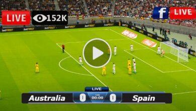 Photo of Australia vs Spain WORLD Olympic LIVE Football Score 25/07/2021