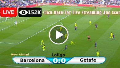 Photo of Barcelona vs Getafe Laliga LIVE Football Score 29/08/2021