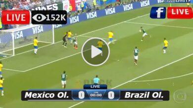 Photo of Mexico Ol. vs Brazil Ol. LIVE Football Score 03/08/2021